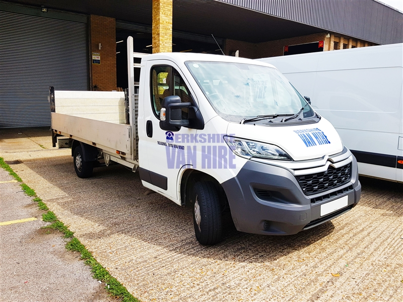 RELAY_3.5_L3_2.2_HDI_130_DROPSIDE_TAIL_LIFT Hire Costs