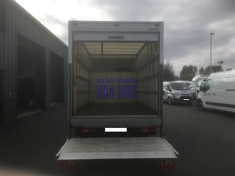 Berkshire Van Hire Vehicles